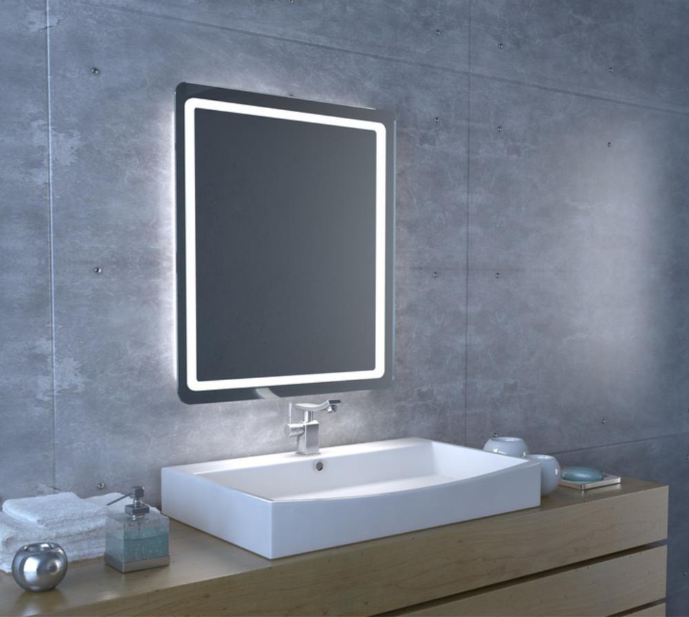 Zrcadlo S Led Osvětlením Star Led 600x45x750 Bez Vypínač